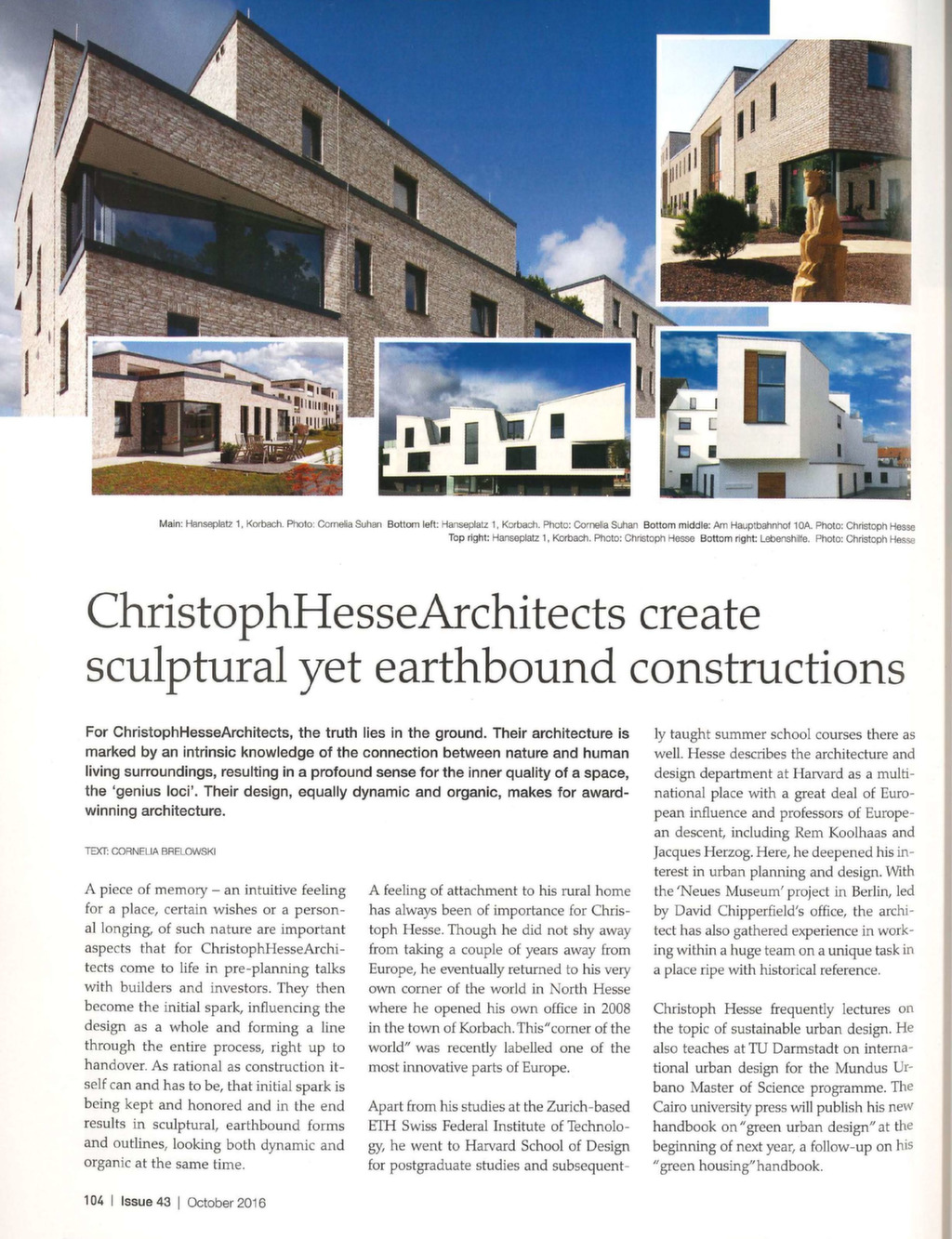 Discover Germany – Christoph Hesse Architects